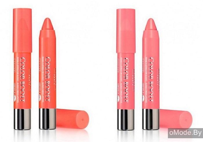 Блески-карандаши для губ Bourjois Color Boost
