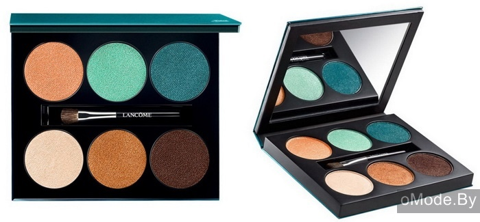 Палетка теней для век Lancome Color Design 6Pan Palette Aquatic Essence