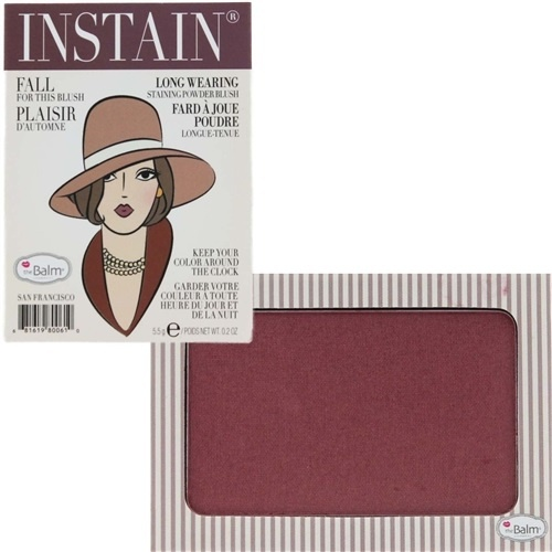 румяна для лица theBalm Instain Powder Blush Pinstripe (сливовый)