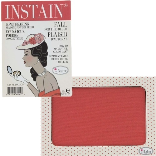 румяна для лица theBalm Instain Powder Blush Swiss Dot (персиково-розовый)