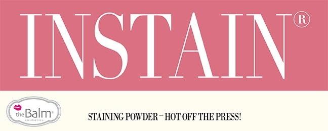 Летняя коллекция устойчивых румян для лица theBalm Instain Powder Blush Summer 2013 Collection