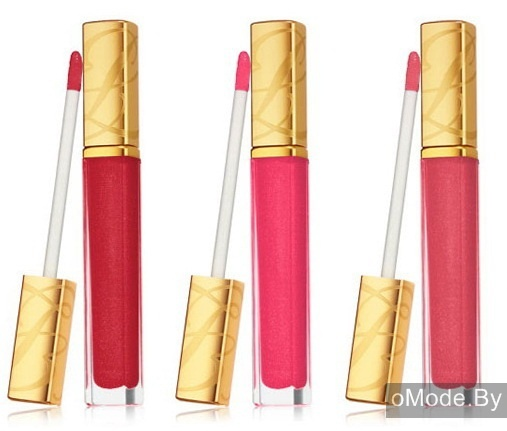 Полупрозрачный блеск для губ Estee Lauder Pure Color Sheer Rush Gloss - Hot Fuse, Pink Patent, Plexi Pink