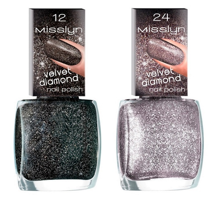 лаки для ногтей Misslyn Velvet Diamonds