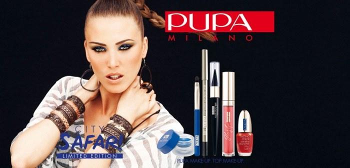Летняя коллекция макияжа Pupa City Safari Summer 2013 Collection