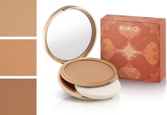 Солнцезащитная компактная пудра KIKO Sunproof Powder Foundation