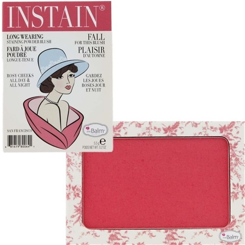 румяна для лица theBalm Instain Powder Blush Toile (клубнично-розовый)