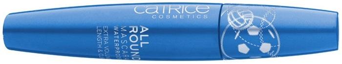 Водостойкая тушь для ресниц Catrice Allround Mascara Waterproof Matchpoint Edition