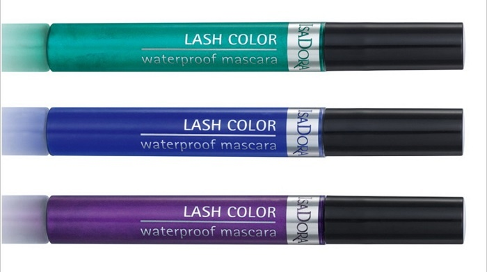 Водостойкая цветная тушь для ресниц Isadora Lash Color Waterproof Mascara (новинка)