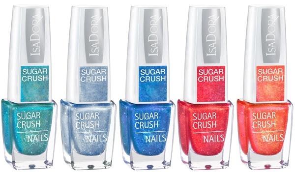 Лаки для ногтей Isadora Sugar Crush Nails