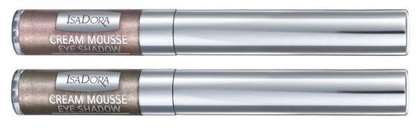 Кремовые тени-мусс для век Isadora Cream Mousse Eyeshadow - №24 Fudge, №26 Khaki