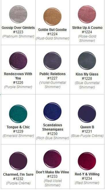 Осенняя коллекция лаков для ногтей China Glaze Autumn Nights Fall 2013 Collection