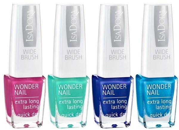 Устойчивый лак для ногтей Isadora Wonder Nail