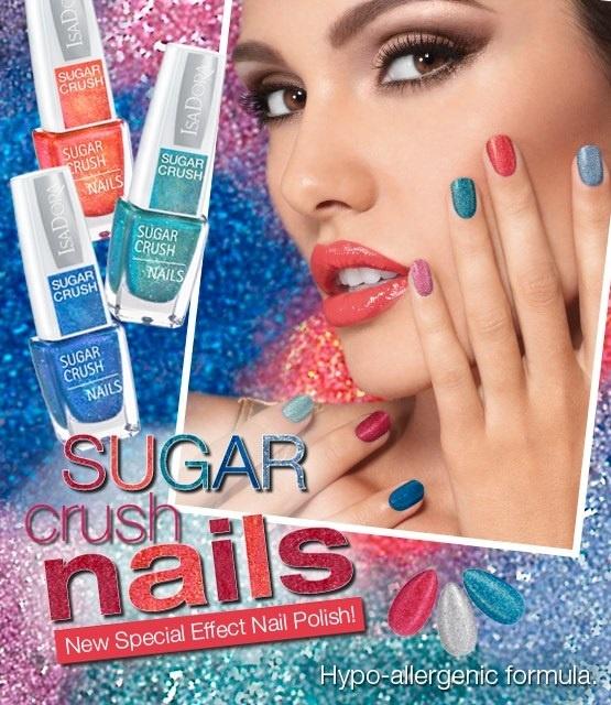 Летняя коллекция лаков для ногтей Isadora Sugar Crush Summer 2013 Collection
