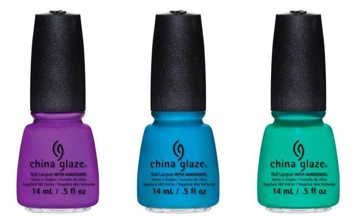 Летняя коллекция лаков для ногтей China Glaze Sunsational Summer 2013 Nail Polishes