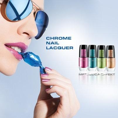 Летняя коллекция лаков для ногтей с хромовым эффектом Artdeco Chrome Summer 2013 Nail Lacquer Collection