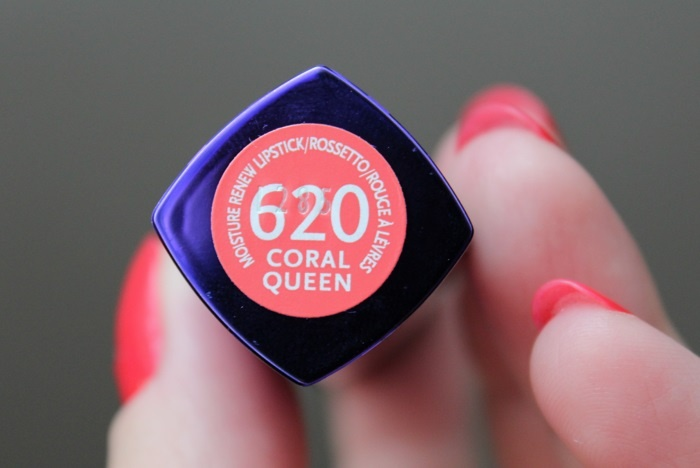 Губная помада Rimmel Moisture Renew Lipstick №620 Coral Queen