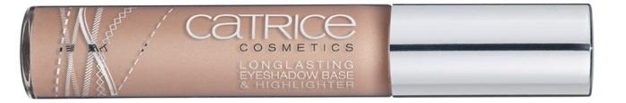 Стойкая основа-хайлайтер для теней Catrice Long Lasting Eyeshadow Base & Highlighter C01 The Winning Cream