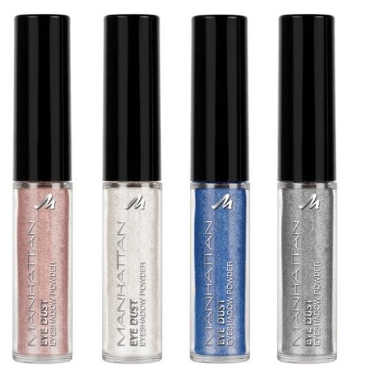 Рассыпчатые тени для век с аппликатором Manhattan Eye Dust Eyeshadow Powder