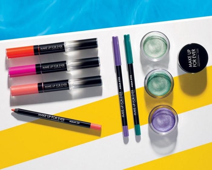 Летняя коллекция макияжа Make Up For Ever Aqua Summer 2013 Collection