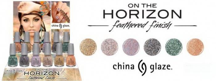 Осенняя коллекция лаков для ногтей China Glaze On The Horizon Fall 2013 Collection