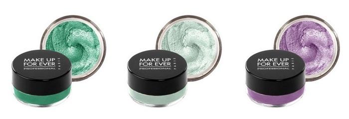 Водостойкие кремовые тени для век Make Up For Ever Aqua Cream (лимитированный выпуск)