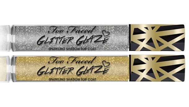 Сверкающее топовое покрытие для теней Too Faced Glitter Glaze Transforming Shadow Top Coat