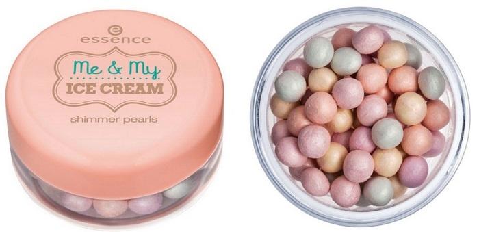 Пудра-шиммер в шариках Essence Shimmer Pearls