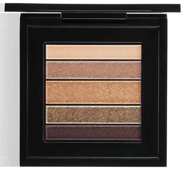 тени для век MAC Veluxe Pearlfusion Shadow Palettes - Brownluxe