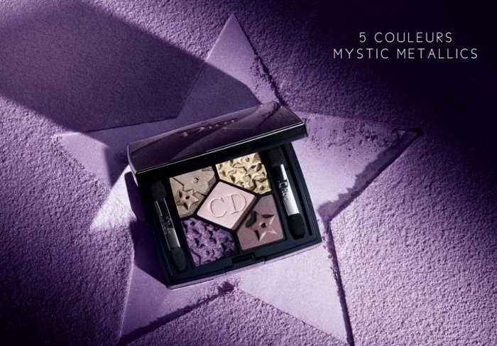 Пятицветные тени для век Dior Mystic Metallics 5 Couleurs Palette  №864 Constellation