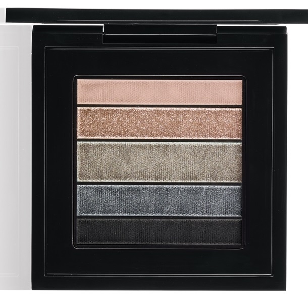 тени для век MAC Veluxe Pearlfusion Shadow Palettes - Smokeluxe