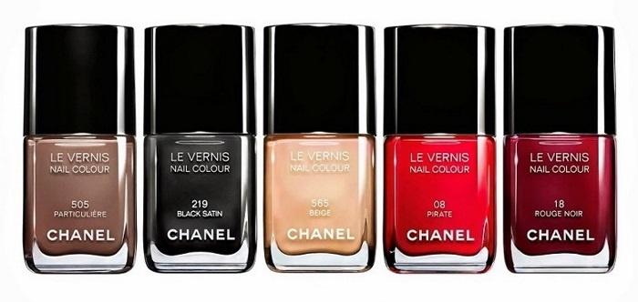 Коллекция лаков для ногтей Les Vernis Couleurs Culte De Chanel