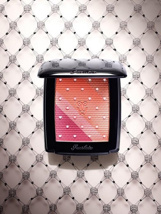 Четырехцветные румяна для лица Guerlain 4-Colours Blush (лимитированный выпуск)