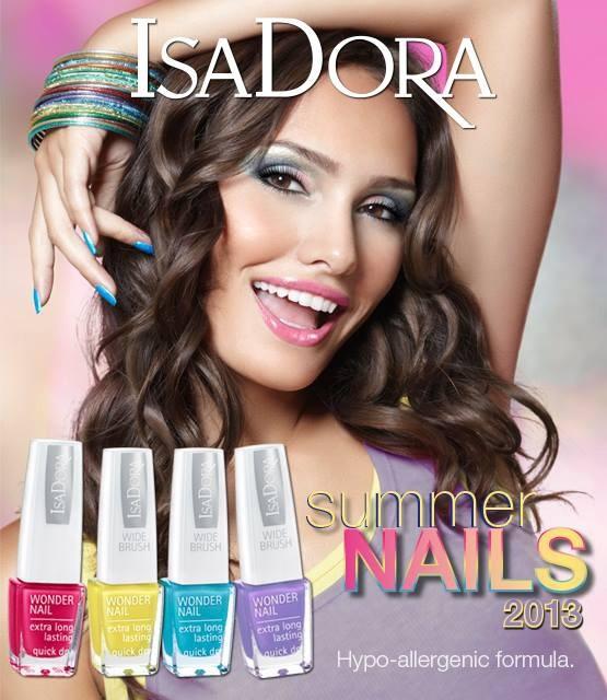 Летняя коллекция лаков для ногтей Isadora Summer Nails 2013 Collection