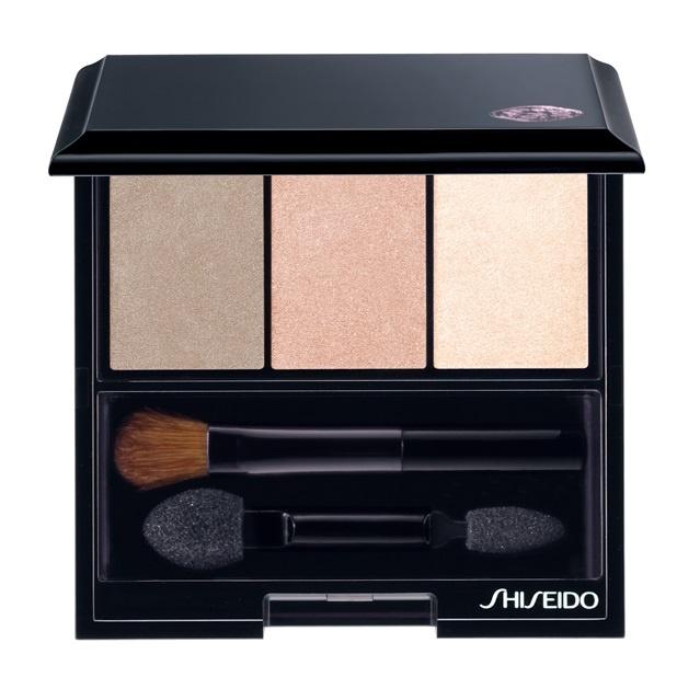 Трехцветные тени для век Shiseido Luminizing Satin Eye Color Trio Nude BE213