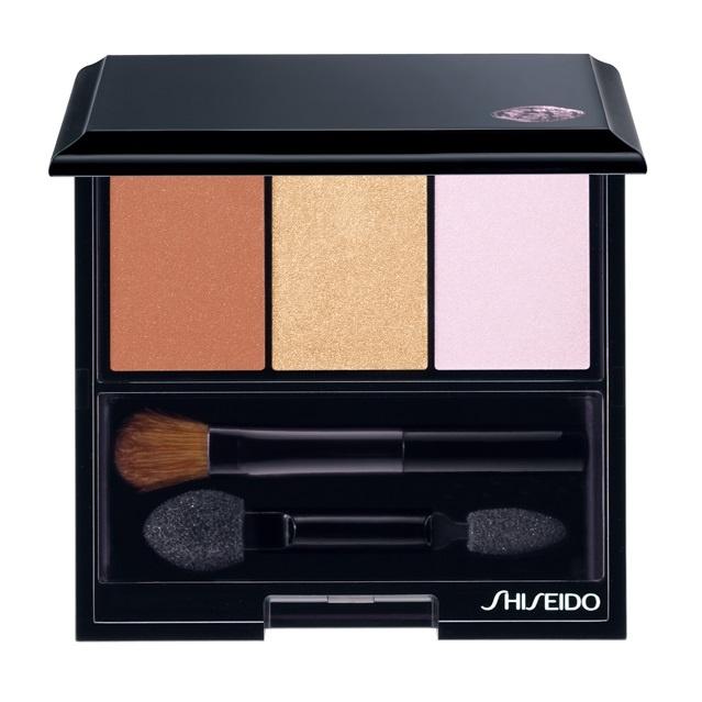 Трехцветные тени для век Shiseido Luminizing Satin Eye Color Trio Into The Woods BR214