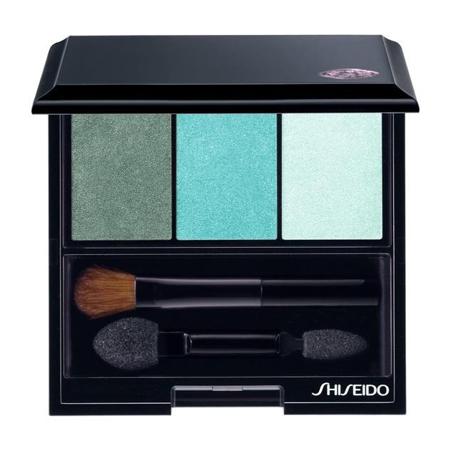 Трехцветные тени для век Shiseido Luminizing Satin Eye Color Trio Lido GR412