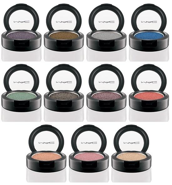 тени для век MAC Pressed Pigments Осень / Fall 2013