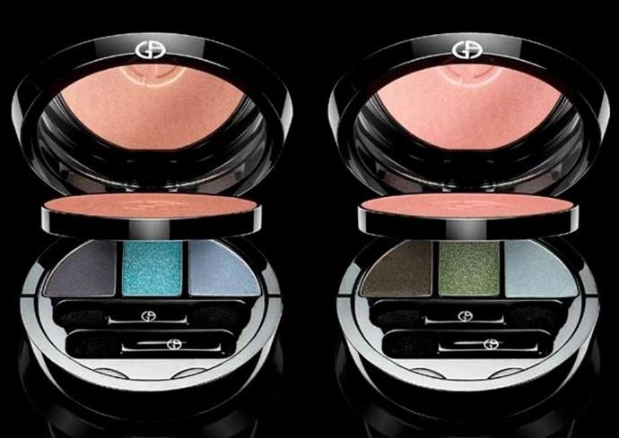 Палетка для макияжа лица и глаз Giorgio Armani Face & Eye Palette