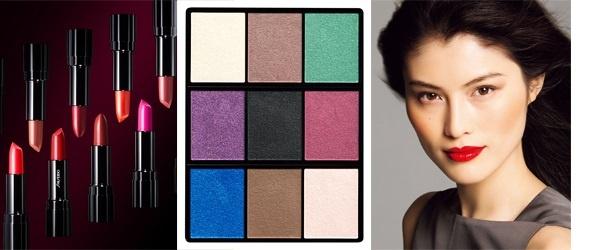Осенняя коллекция макияжа Shiseido Fall 2013 Makeup Collection
