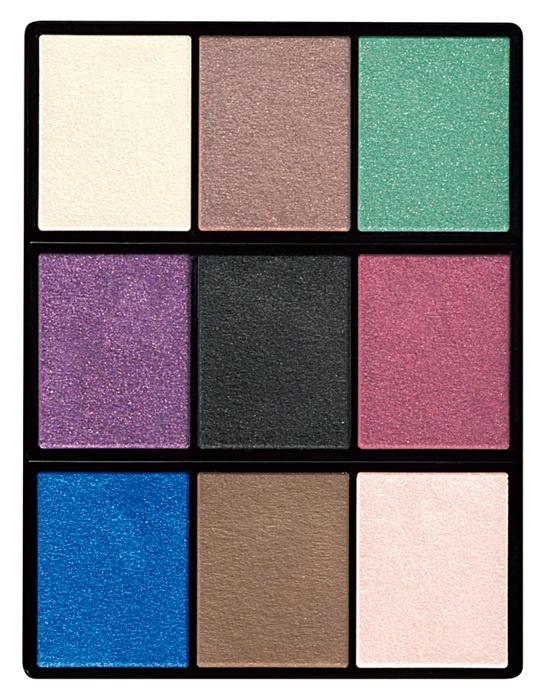Большая палетка теней для век Shiseido The Eye Color Bar