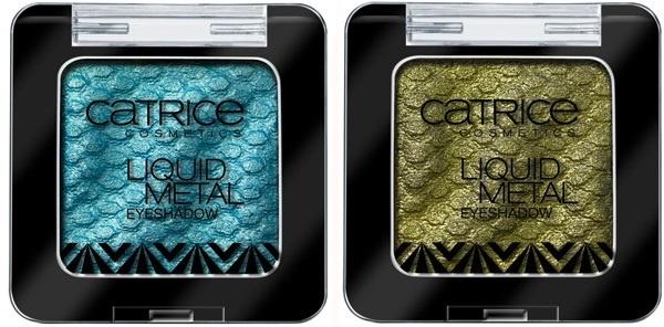 Пудровые тени для век с металлическим эффектом Catrice Liquid Metal Eyeshadow