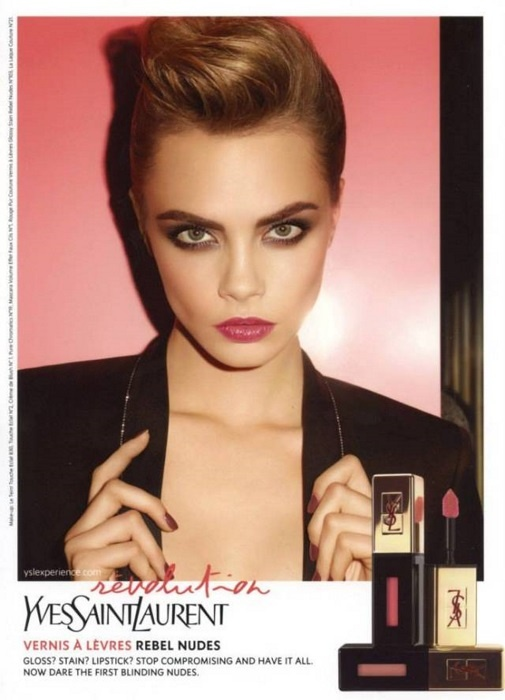 Осенняя коллекция макияжа Yves Saint Laurent Rebel Nudes Fall 2013 Collection
