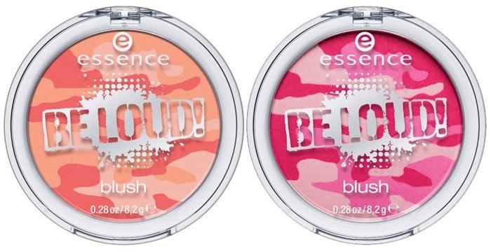 Мультицветные румяна для лица Essence Be Loud Multi Colour Blush