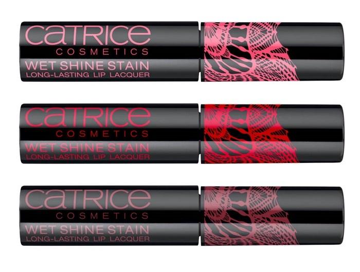 Устойчивый лаковый блеск для губ Catrice Wet Shine Stain Lip Lacquer
