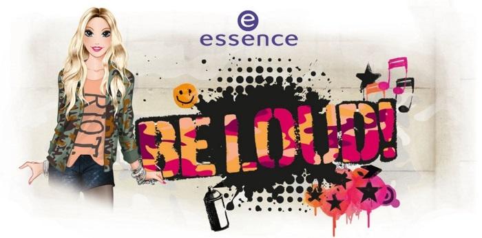 Осенняя коллекция макияжа Essence Be Loud Fall 2013 Collection