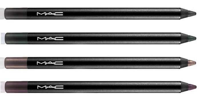 Стойкие контурные карандаши для глаз MAC Pro Longwear Eye Liner
