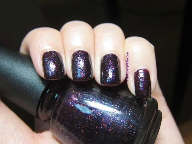 свотчи лаков для ногтей China Glaze Monsters Ball Halloween 2013 Nail Polish Collection