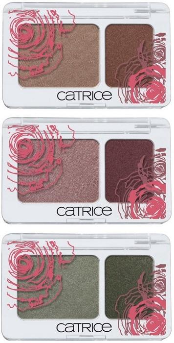 Двухцветные тени для век CATRICE Soft Duo Eyeshadow