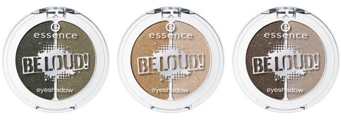 Двухцветные тени для век Essence Be Loud Eyeshado
