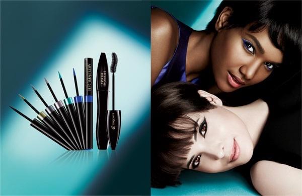 Осенняя коллекция жидких подводок для глаз Lancome Artliner 24H Bold Color Precision Eyeliner Fall 2013 Collection